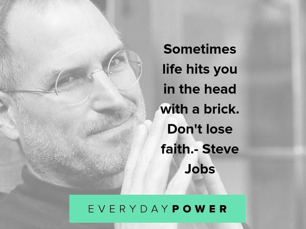 steve jobs on life