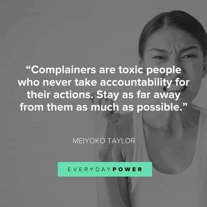 Types of toxic people to stay away from