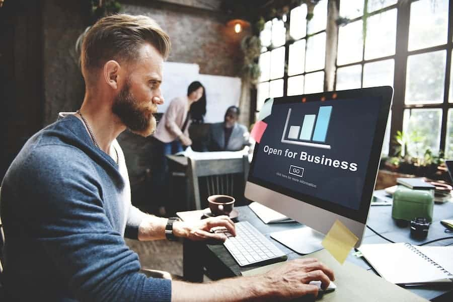Starting a business and website