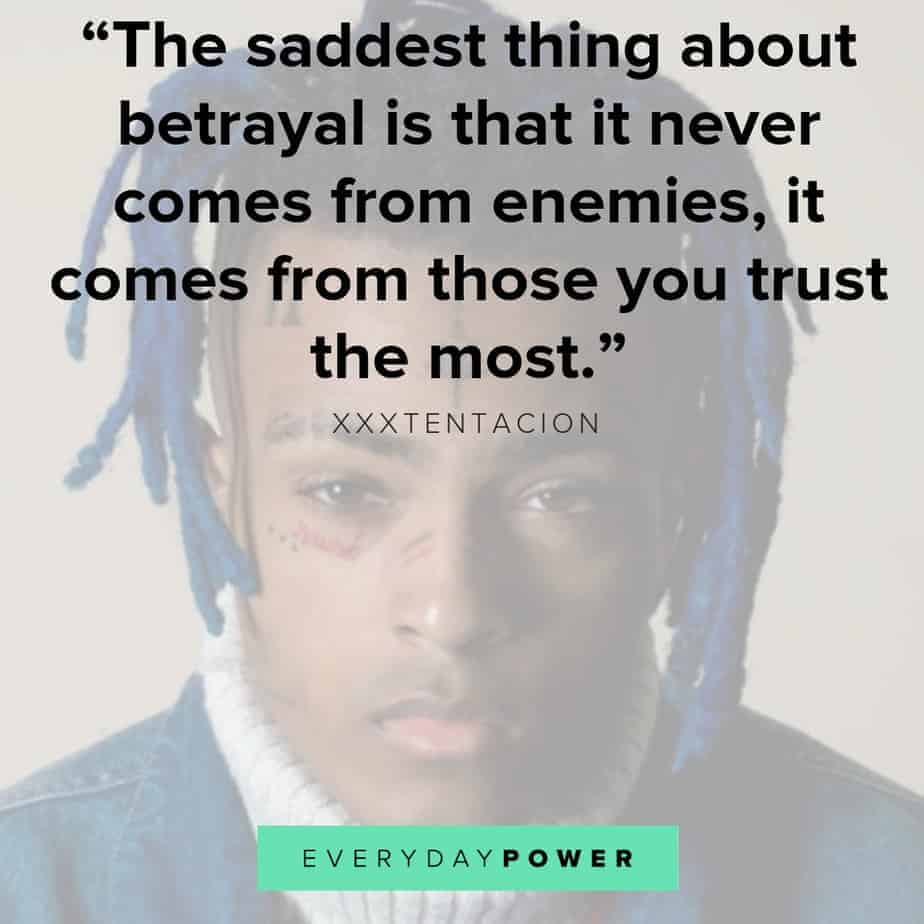 30 Xxxtentacion Quotes And Lyrics About Life And Depression 2019