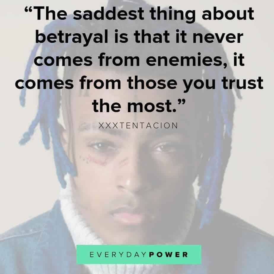 XXXTENTACION quotes about life