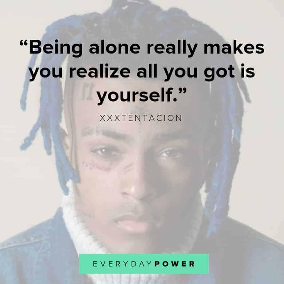 XXXTENTACION quotes sad