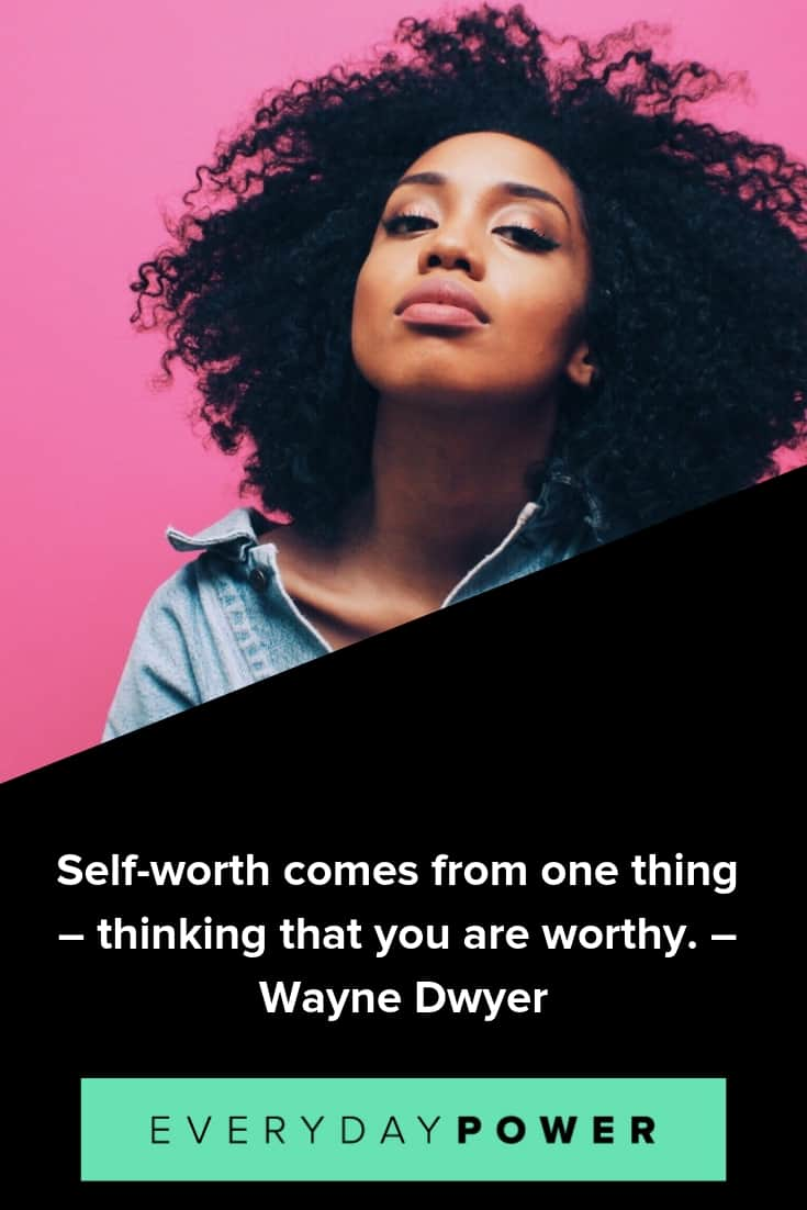 Know your worth quotes to boost your self-estee