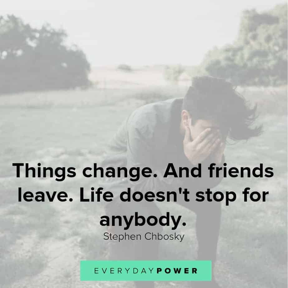 sad love quotes about friends
