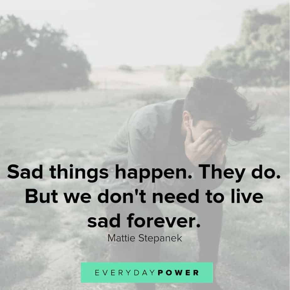 Sad Depressing Quotes: 60 Sad Love Quotes To Beat Sadness And Tears (2019