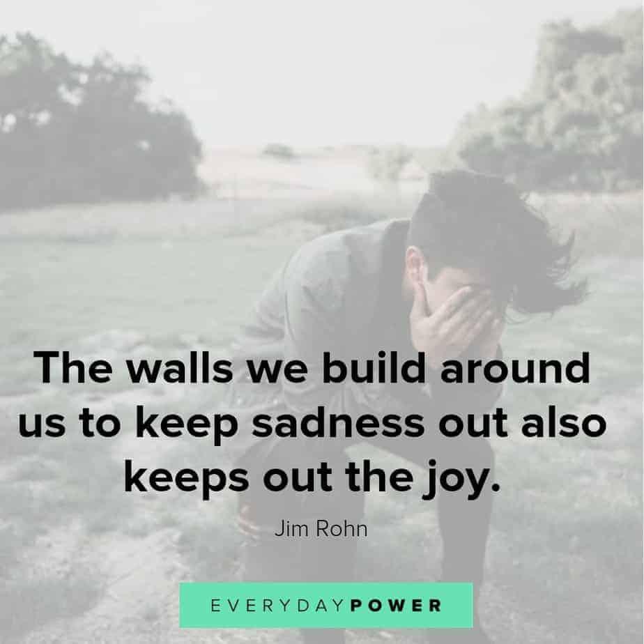 sad love quotes about joy