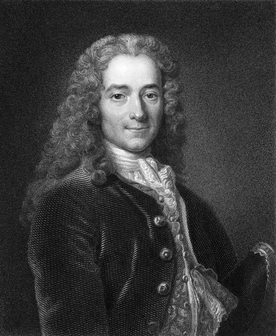 Poet Voltaire