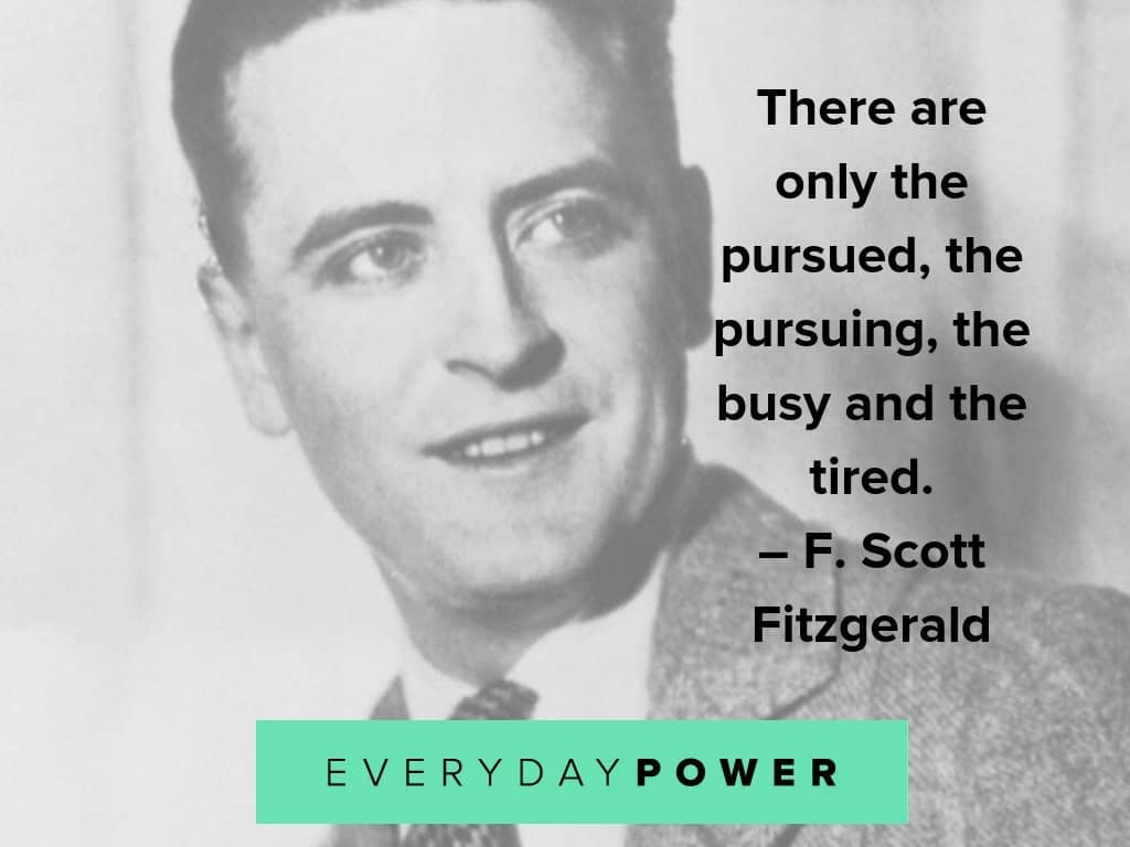 F. Scott Fitzgerald quotes on life