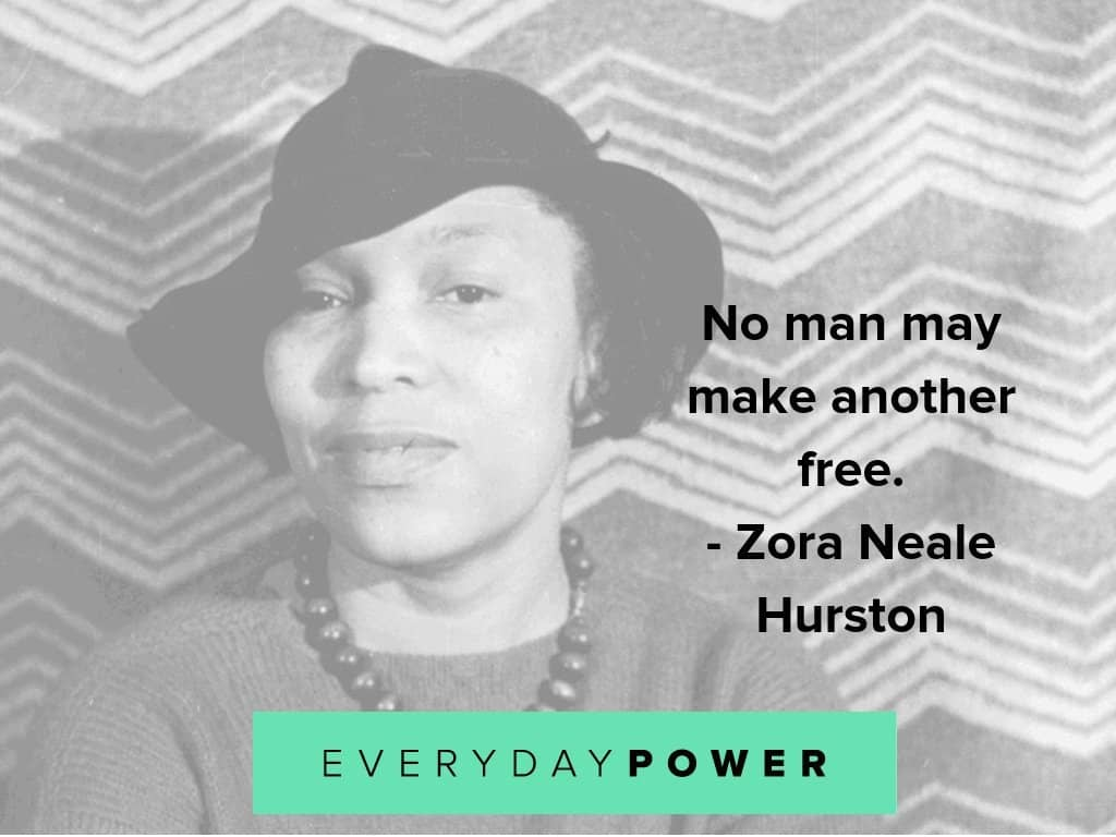 Zora Neale hurston quotes on life