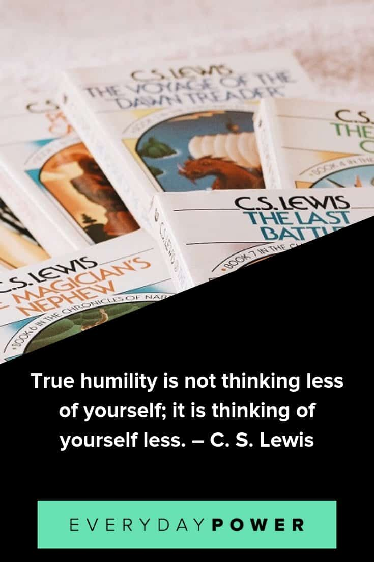 inspirational C. S. Lewis quote