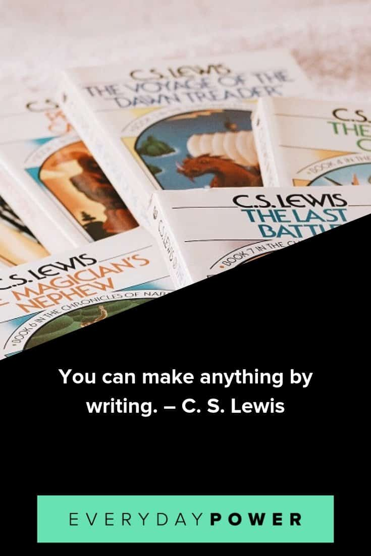 C. S. Lewis Quotes About Life