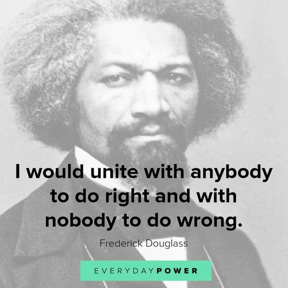 frederick douglass quotes on doing right
