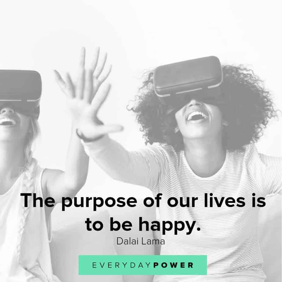 quotes about being happy and living fully