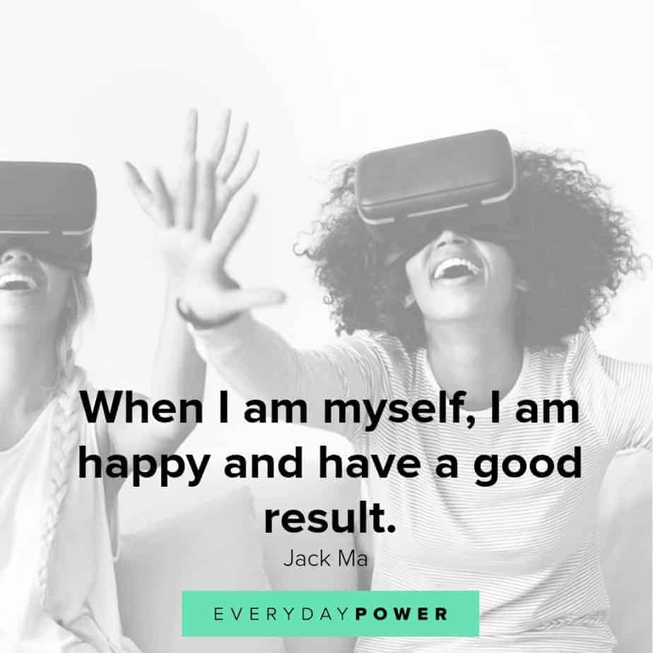 quotes about being happy and having a good result