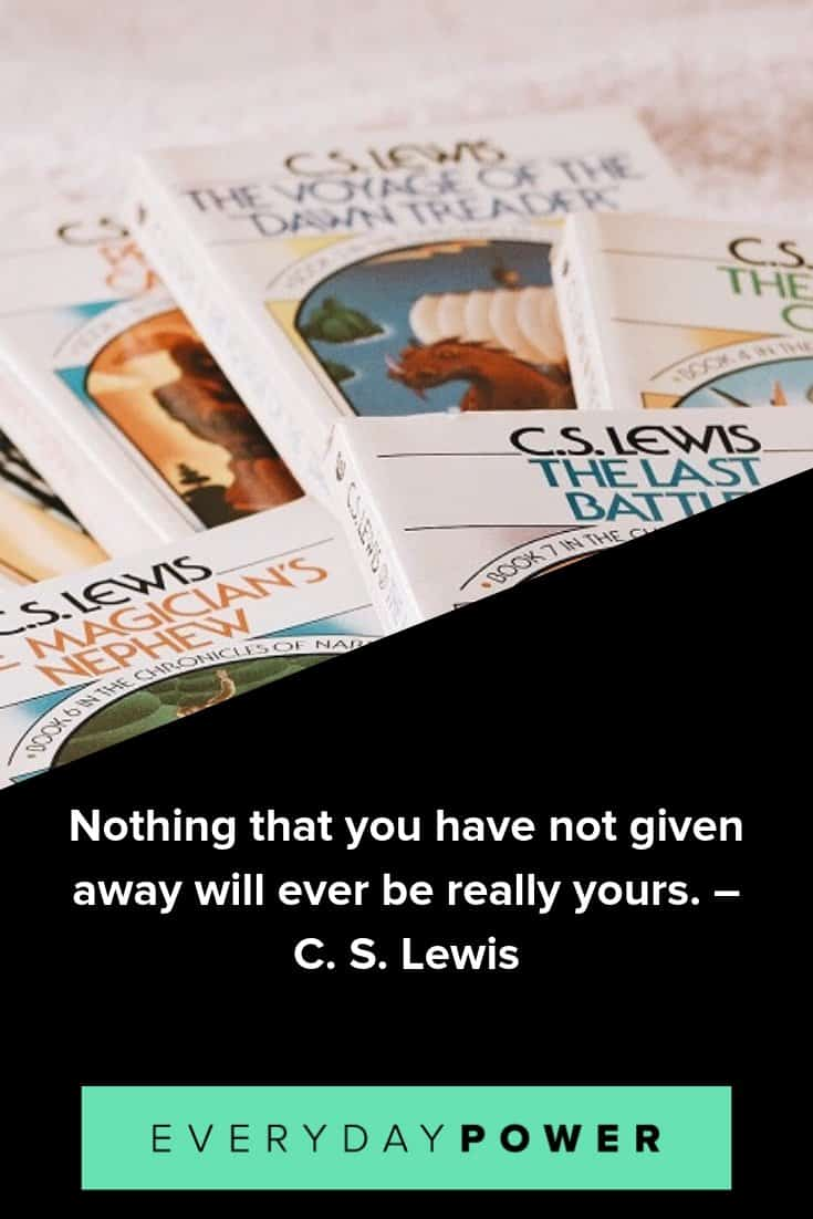 C. S. Lewis Quotes About Life, Love and Friendship