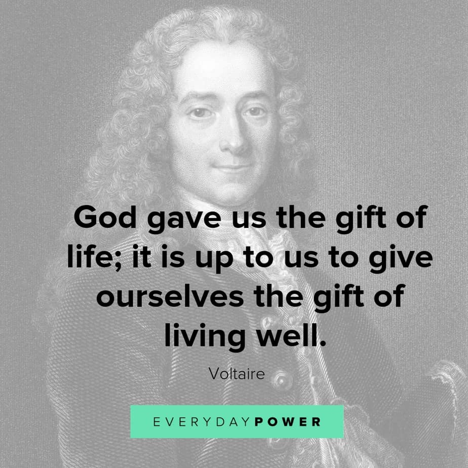 voltaire quotes on success