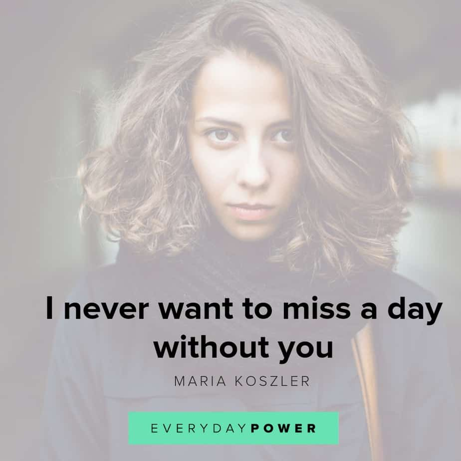 i miss you quotes day