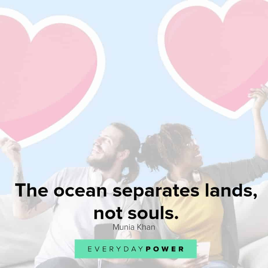 Long Distance Relationship Quotes about soul