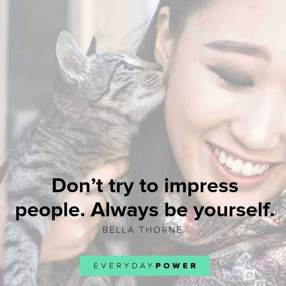 be yourself quotes about happiness