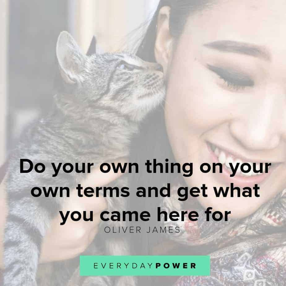 be yourself quotes on your own terms