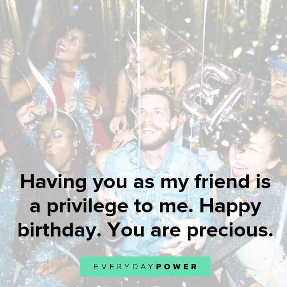 50 Happy Birthday Quotes For A Friend On Wishes And