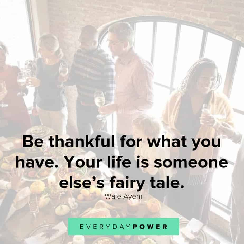 Be Thankful Quotes | 50 Thanksgiving Quotes To Honor Your Loved Ones