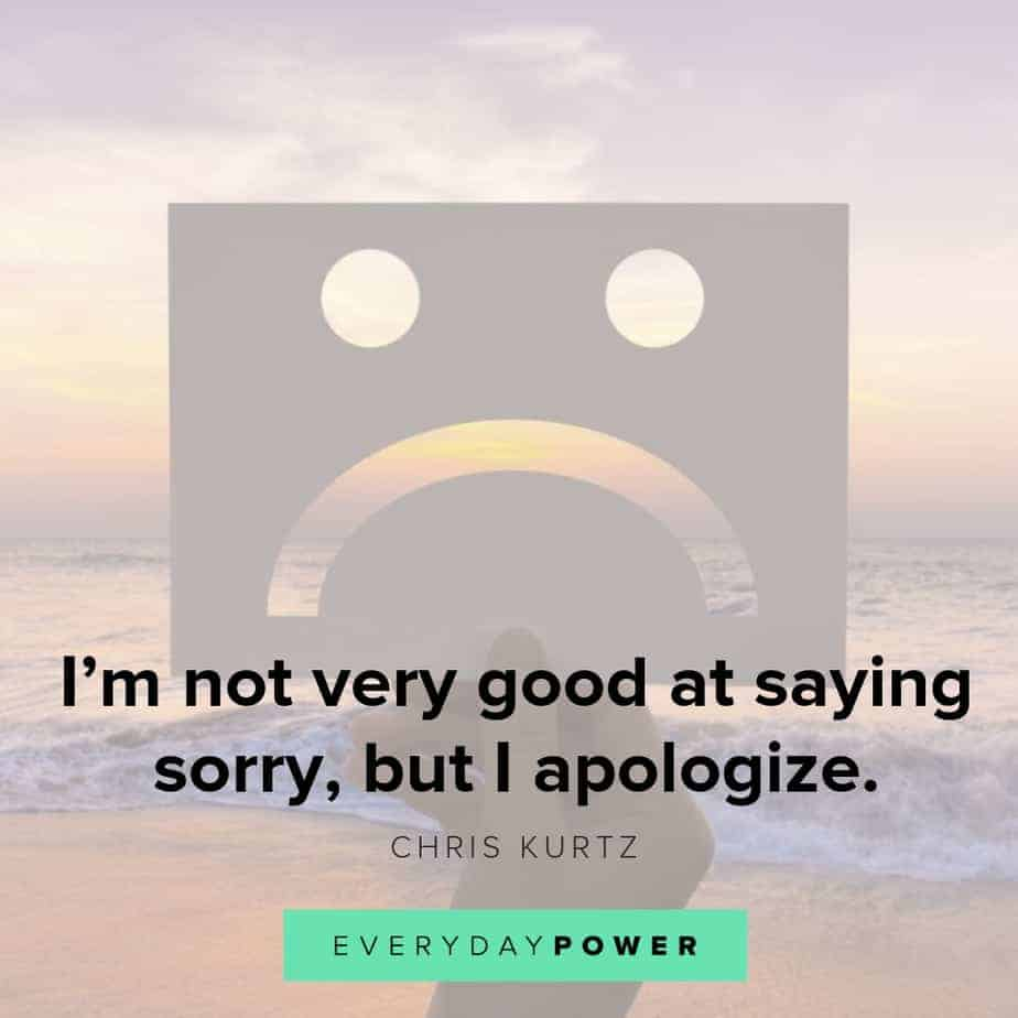 i'm sorry quotes to help you apologize