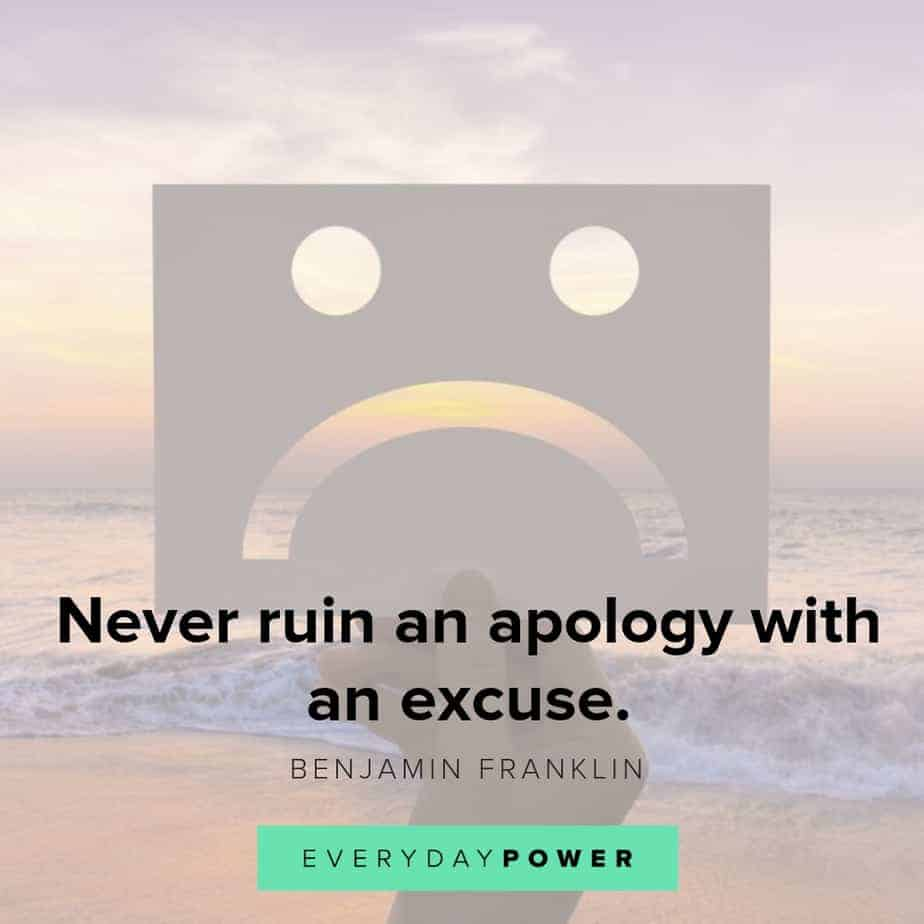 50 Im Sorry Quotes For When You Cant Find The Right Words 2019