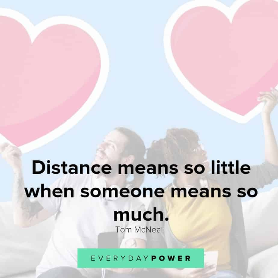 long distance relationship quotes about making it work