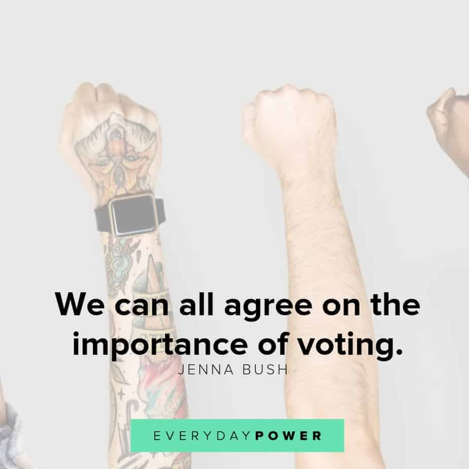 50 Patriotic Quotes About Voting And Democracy Everyday Power