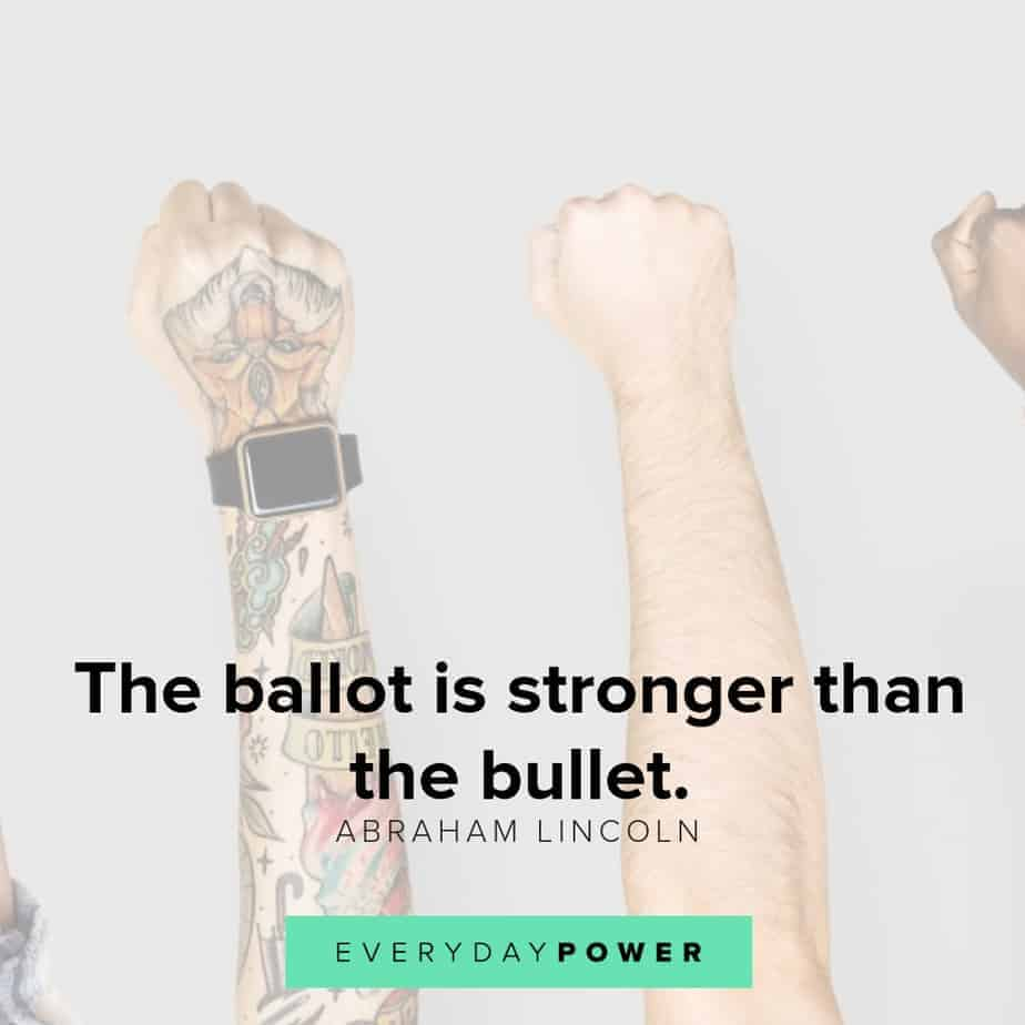 quotes about voting and the ballot
