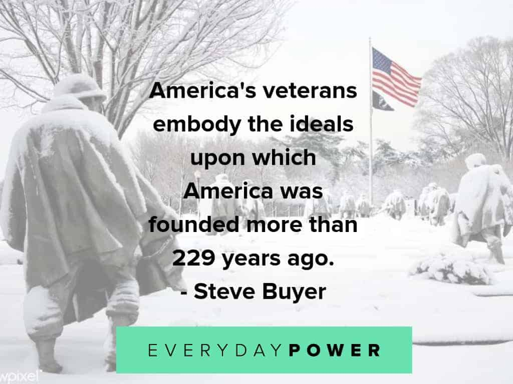 veterans day quotes about what they embody