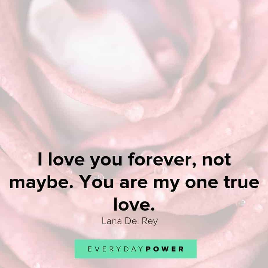 Happy anniversary quotes about true love