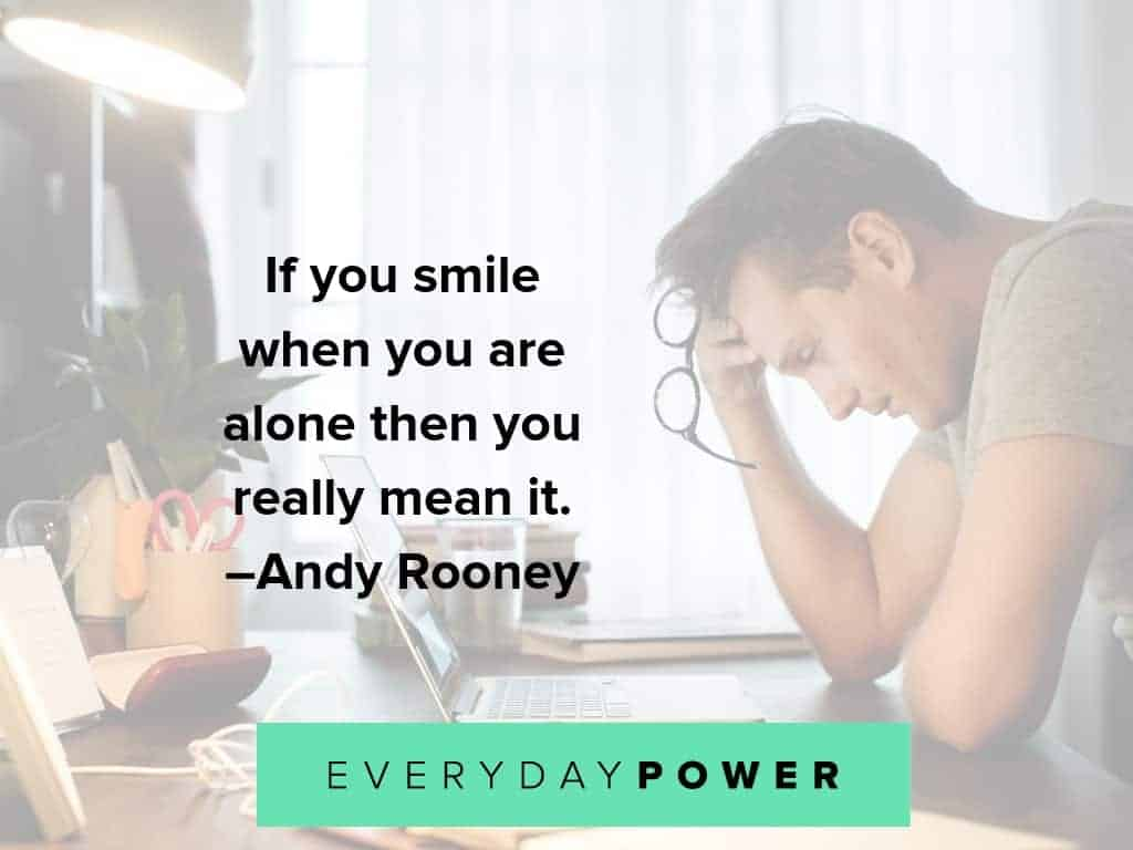 lonely quotes to make you smile
