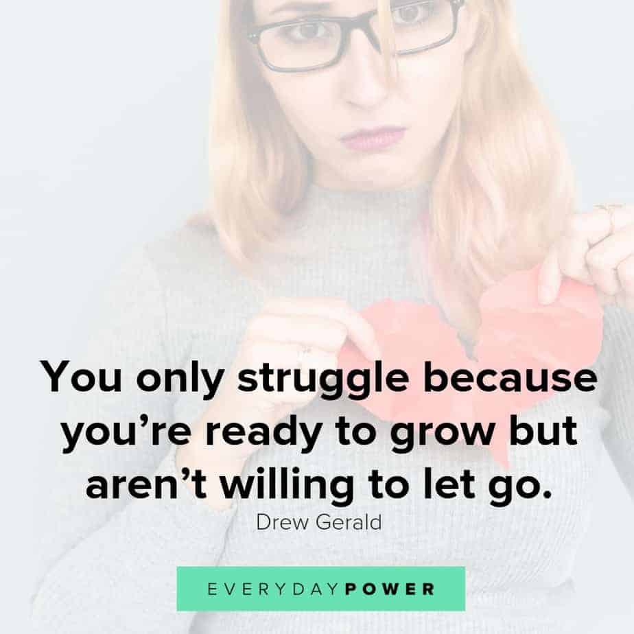 broken heart quotes about struggle