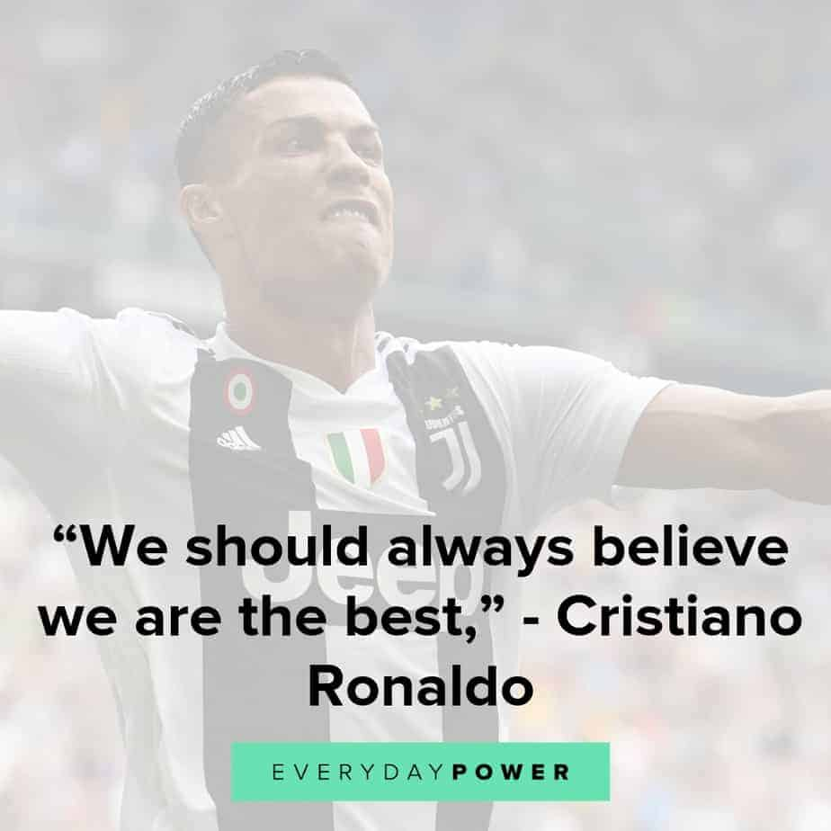 cristiano ronaldo quotes to inspire self confidence