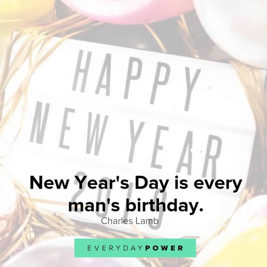 50 Happy New Year Quotes That Celebrate 2019 Everyday Power