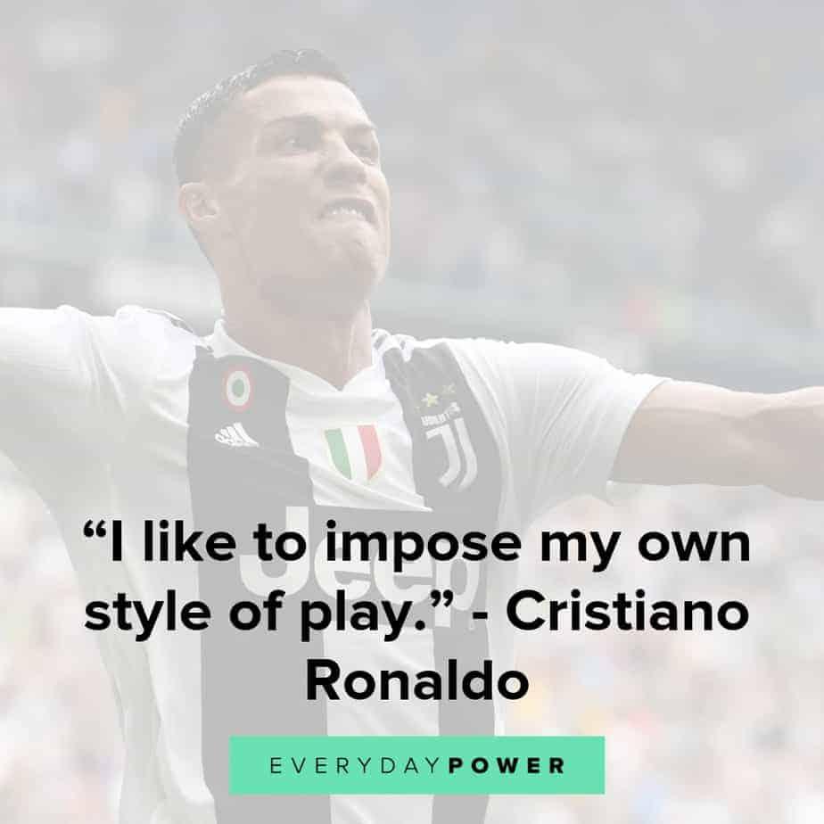 cristiano ronaldo quotes to inspire success