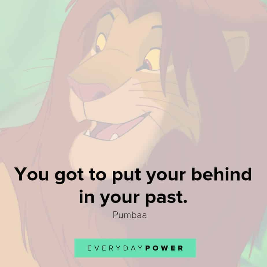 lion king quotes about the past