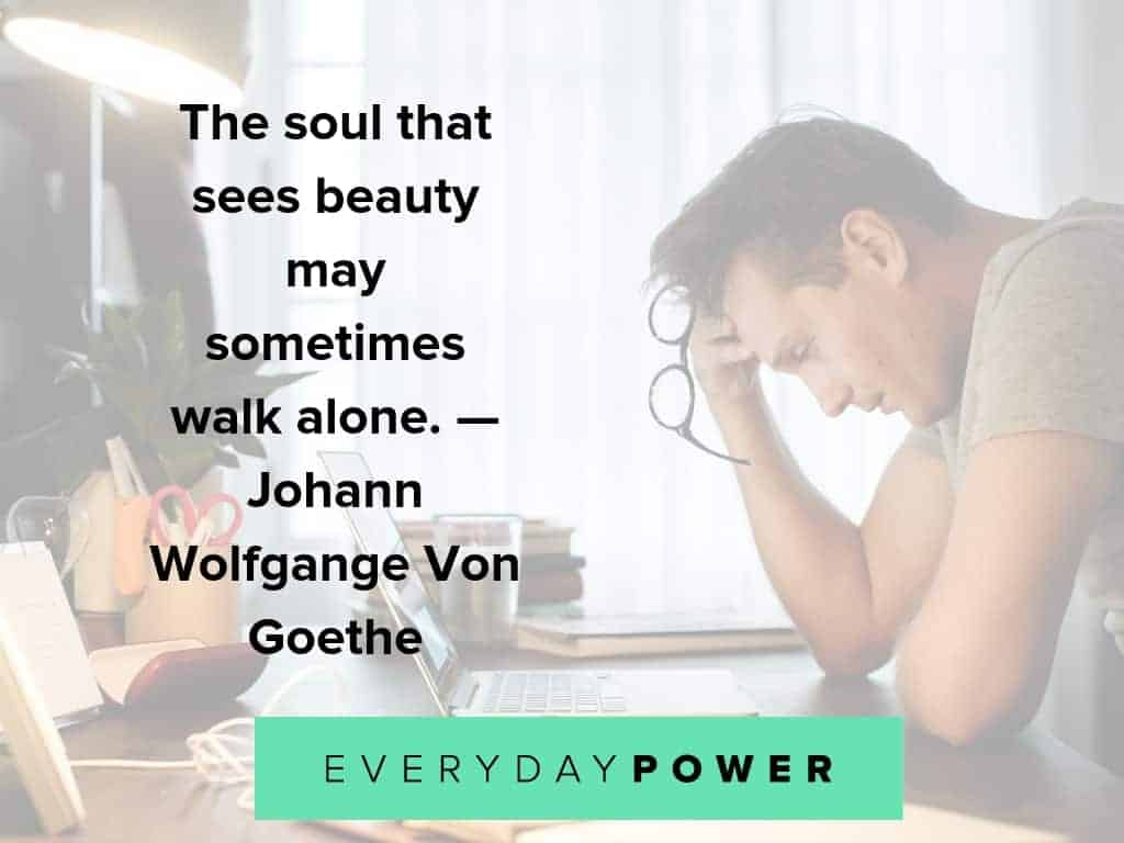 lonely quotes about beauty