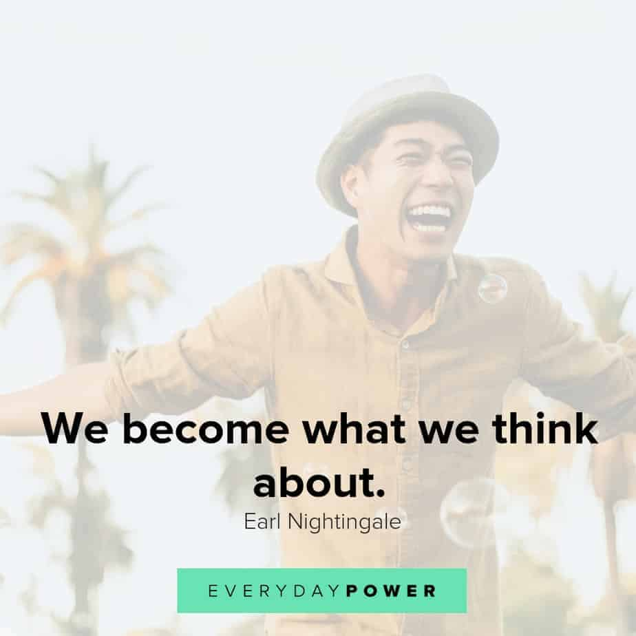 positive thinking quotes on what we become