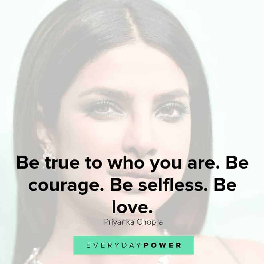 priyanka chopra quotes on being true to yourself