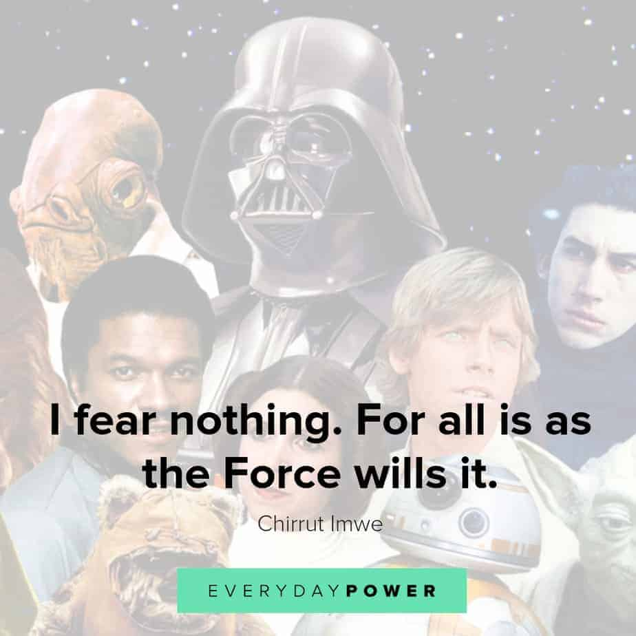 star wars quotes about fear