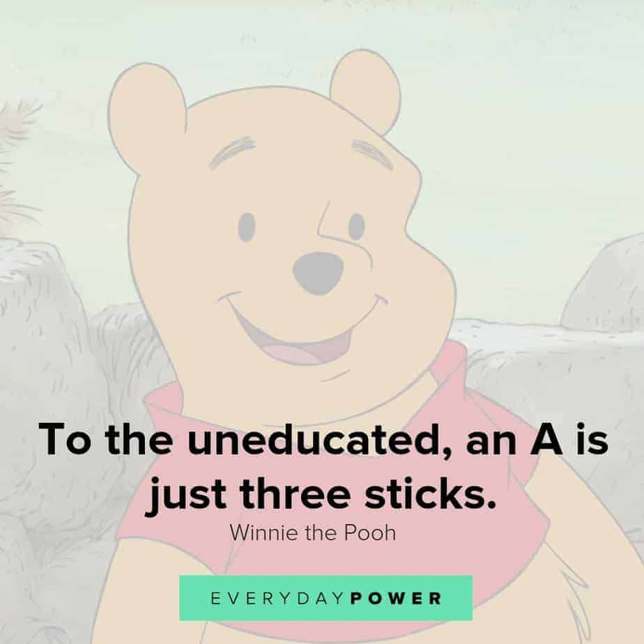 Winnie the Pooh quotes that both adults and children can relate to