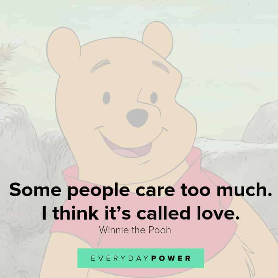 winnie the pooh about care