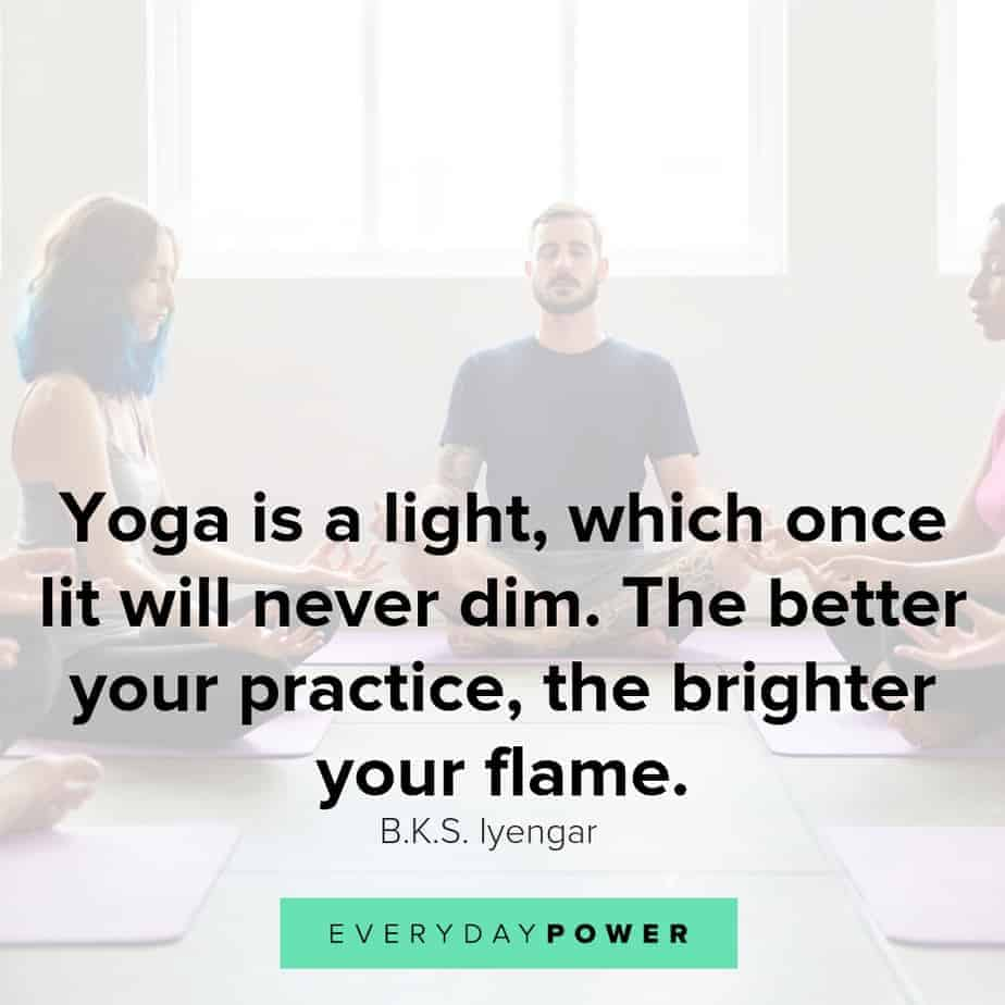 yoga quotes about light