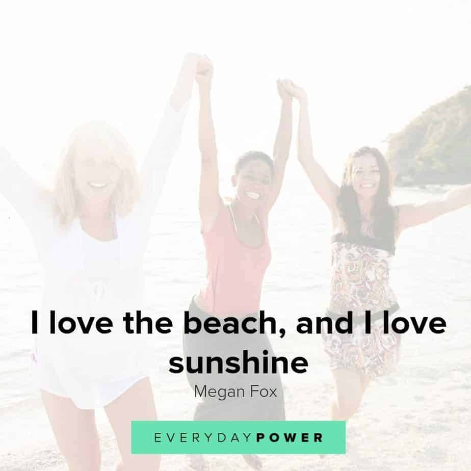 Beach quotes to inspire happiness and good health