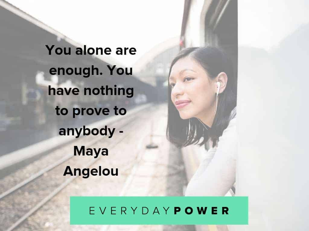Being single quotes to help you focus on yourself