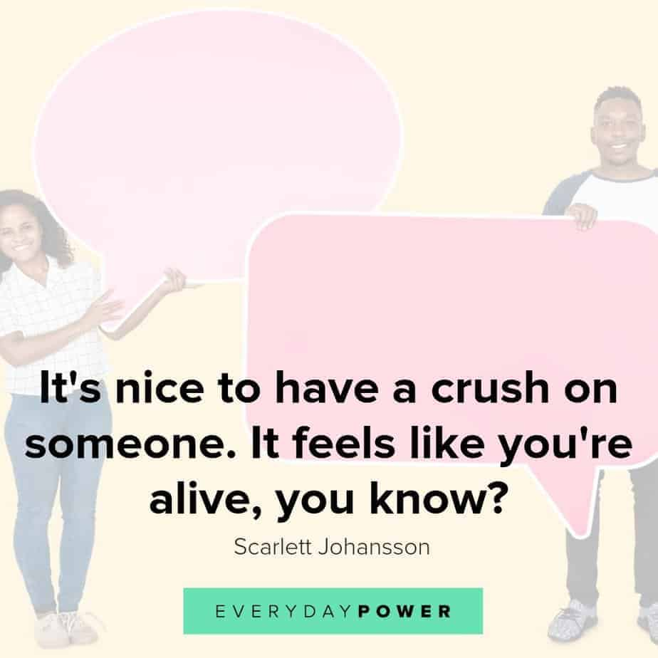 Crush quotes celebrating love at first sight