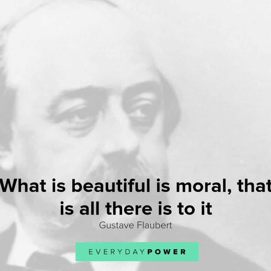 inspirational Gustave Flaubert quotes